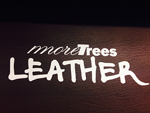 more trees LEATHERについて
